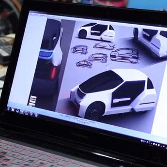 同济大学志远车队使用Polymaker尼龙材料3D打印概念车